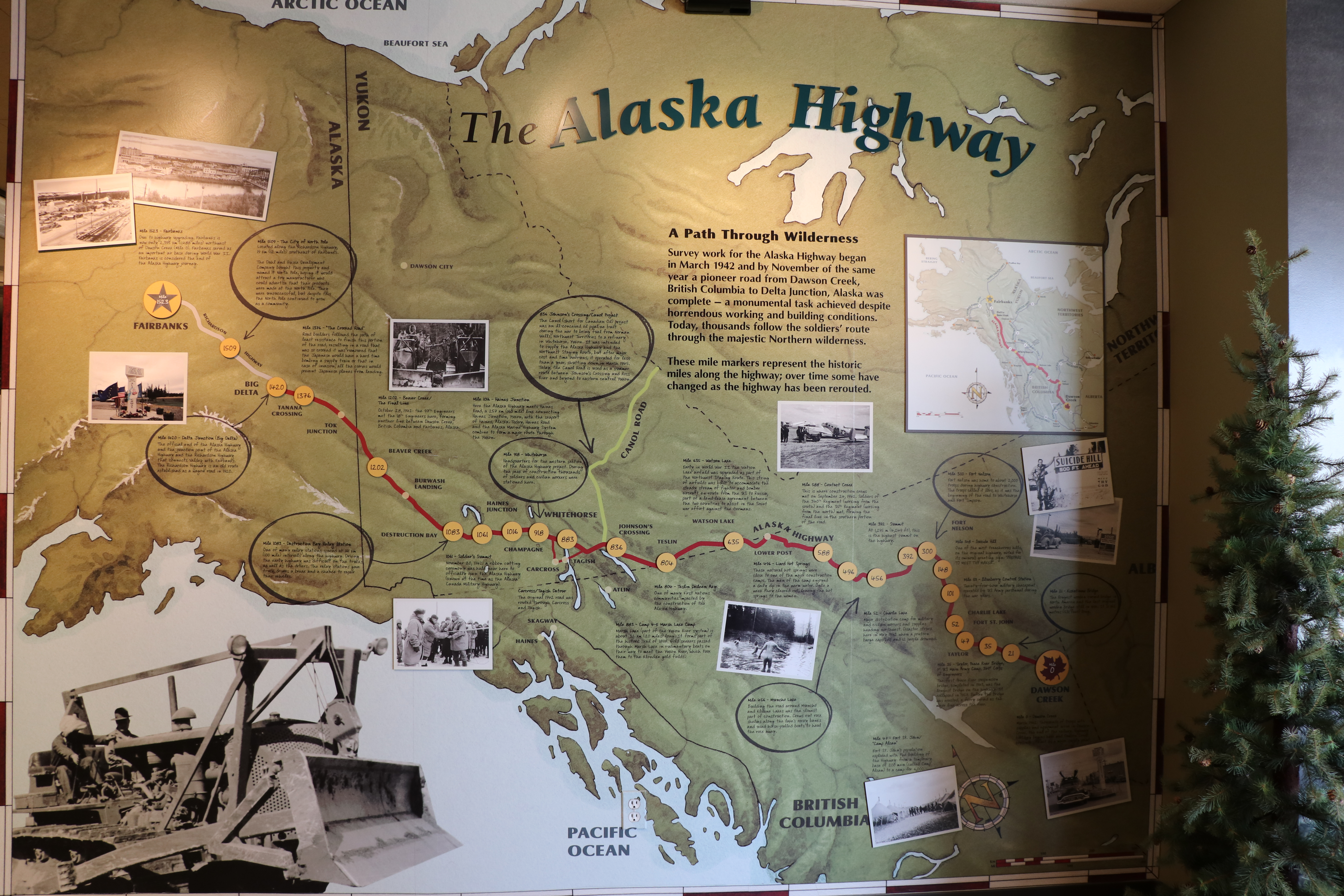 How To Plan Your Alaska Highway Road Trip Chasing Booty Adventures -> Tok Ak Street Map